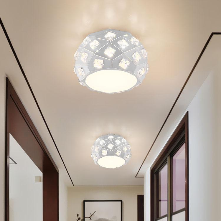 Modern Led Ceiling Lights Lampshade White Living Room Foyer Fixtures Bedroom Lamp Kitchen Plafonnier Luminarias Lighting Lights & Lighting Ceiling Lights & Fans