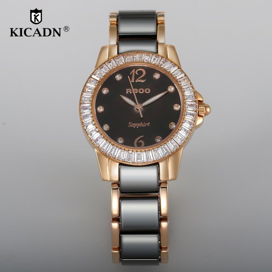 Reloj Mujer Ladies Watches Women Luxury Ceramic Watch Fashion Quartz  Wristwatch KICADN Top Brand Female Dress Elegant Clock Gift Expensive  Watches Watches ... 5ceeaee922