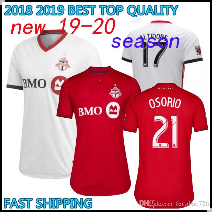 e56f393df NEW 2019 2020 Toronto FC Home Soccer Jersey 19 20  10 GIOVINCO Red ...