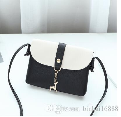 On the new cross-body women's bag Korean version of the new 2019 simple all-in-one fairy small bag women 2018 new trend N6
