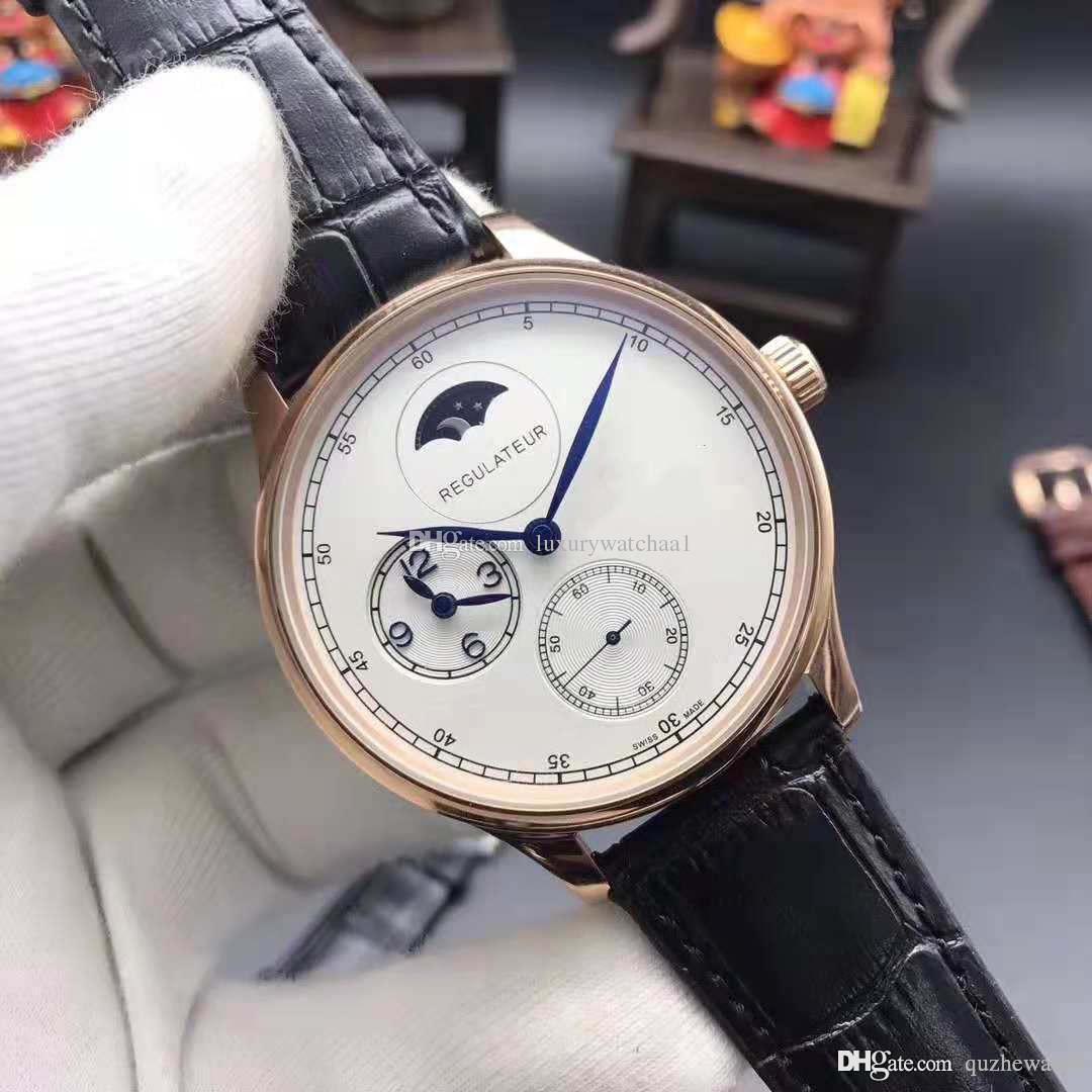 2d93a3f89aa A+New Fashion Luxury Brand Swiss Watch Leather Watch Automatic Men ...