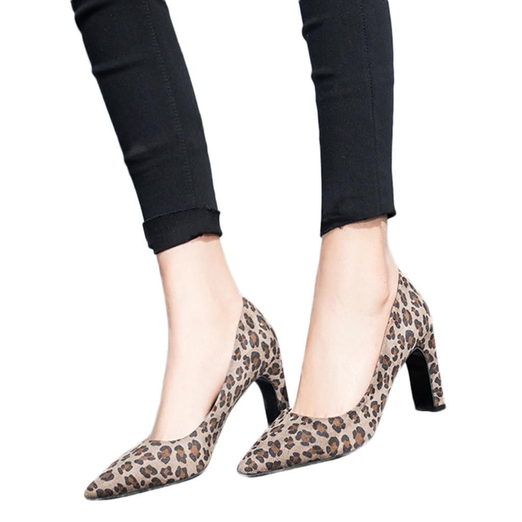 e532ea4f5bae Dress Spring Sexy Leopard Women Shoes High Heels 5 8cm Elegant Office Pumps  Shoes Women Animal Print Pointed Toe Luxury Singles Shoes Heels Shoes  Online ...