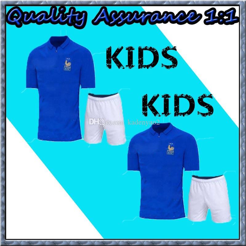 ca7dc803c France KIDS 1919 2019 Special Edition Centenary Soccer Jersey HENRY ...
