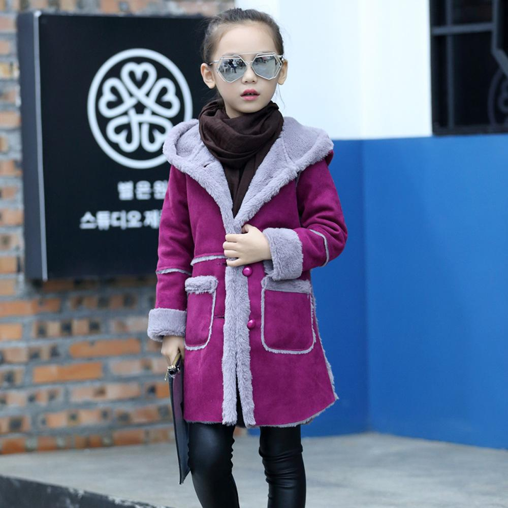 ca3f563c4 2019 Fashion Children S Clothing Autumn Winter Girl S Flannel ...
