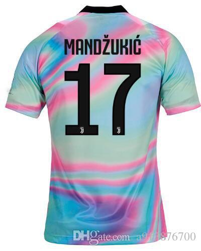 2019 New 7 Ronaldo Juventus Soccer Jersey 18 19 Dybala Juventus Ea