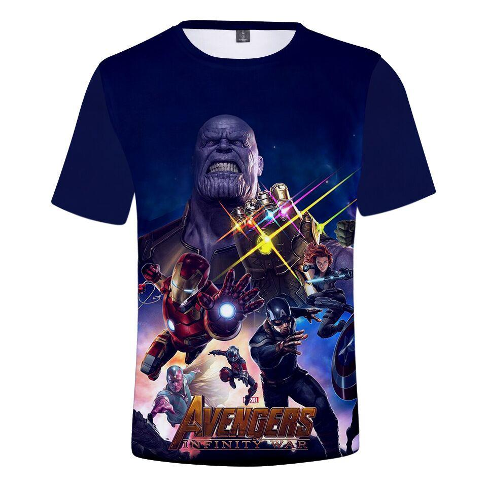 9194c7a2 Quantum Realm Iron Man Marvel Avengers 4 Endgame T Shirt Men/Women 3D  Printing Summer Unisxe Crewneck Casual Short Sleeved Tops N1028 Printable T  Shirts T ...