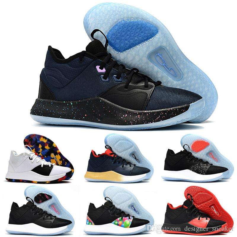 c9d011c81c30 2019 2019 NEW Paul George PG 3 3S TS GS ID EP PALMDALE III Basketball Shoes  Cheap PG3 Starry Blue Orange Red Black Sports Sneakers Size 40 46 From ...