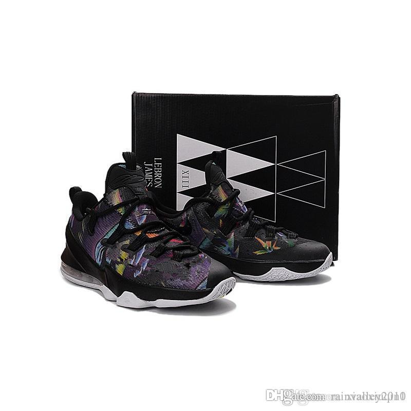the latest df8d7 8c9e5 Lebron 13 XIII low mens basketball shoes for sale MVP Christmas BHM Easter  Halloween Akronite DB youth boots with original box 7 12