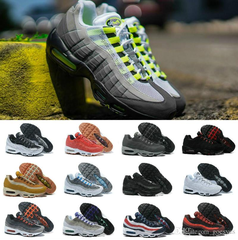 online retailer 022cf 5fd21 AIR Ultra 20th Anniversary Max Nike 95 OG Calzado De Running Para Hombre  Off Chaussures TN 95s Blancos Zapatillas De Deporte Zapatillas De Diseñador  270 ...