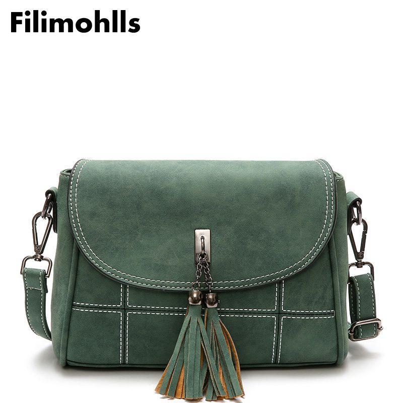 ac8669b47905 High Quality Bags Female Shoulder Bag Woman CrossBody Bag Nubuck ...