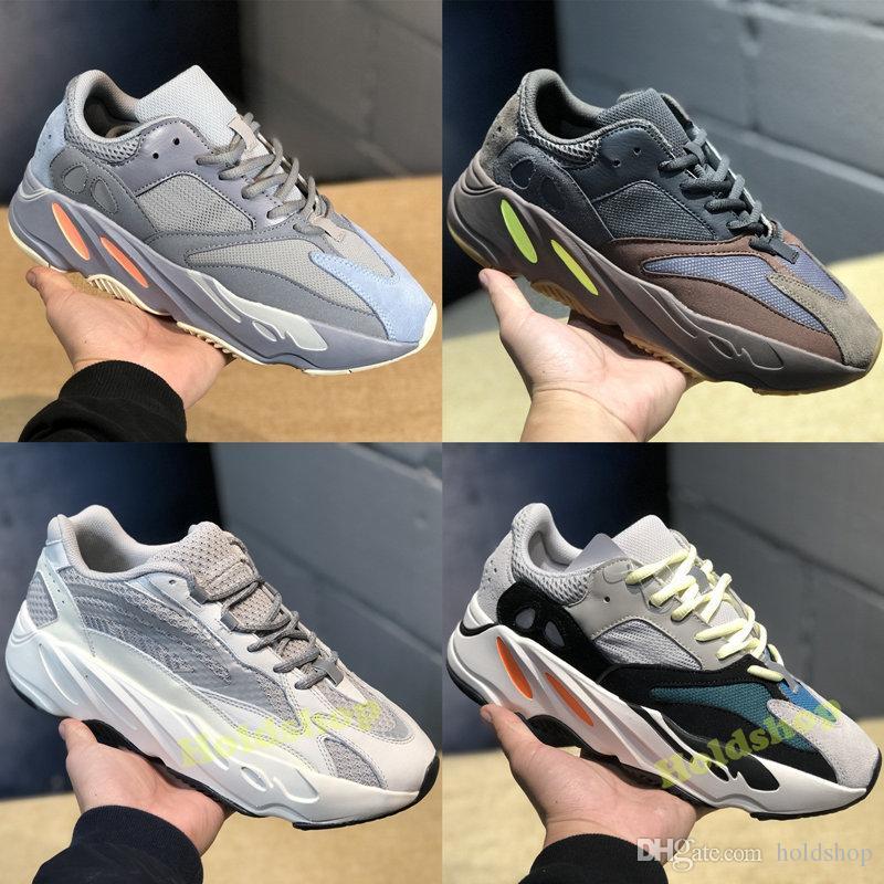 official photos e0690 c5d09 2019 Static Adidas Yeezy Boost 700 V2 Wave Runner Mauve EE9614 Zapatos Para  Correr Hombres Mujeres Gris Sólido B75571 Diseñador Deportivo Zapatillas De  ...
