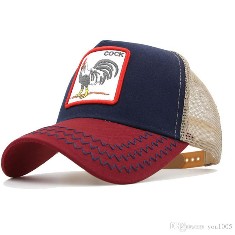 b917b2b3718cf Custom Baseball Cap with Hip-hop Street Fashion Personality High Quality  Fashion Style Animal Rooster Hat A Minimum of 100 Online with  6.52 Piece  on ...