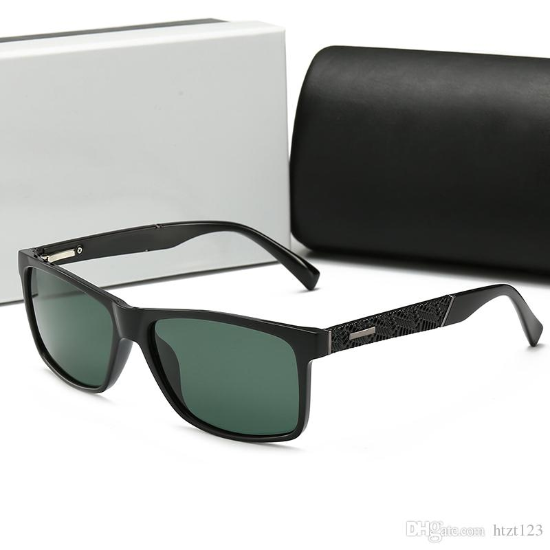 74b8f47412 Compre Diseñador De Moda De Lujo Gafas De Sol Polarizadas Moda Metal Gafas  Con Montura Con Bisagras UV400 Gafas De Sol Polarizadas 2019 Vendedor  Caliente ...