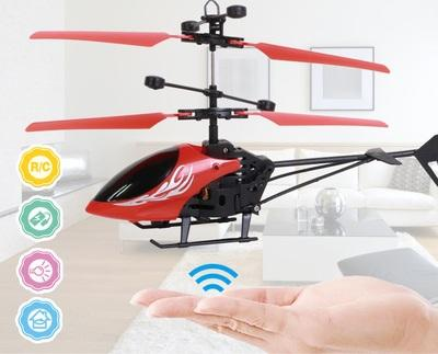 Induction Mini RC Helicopter Radio Remote Control Hand Induction Flying Aircraft Electric Micro Helicopters Toys Gift for Kids