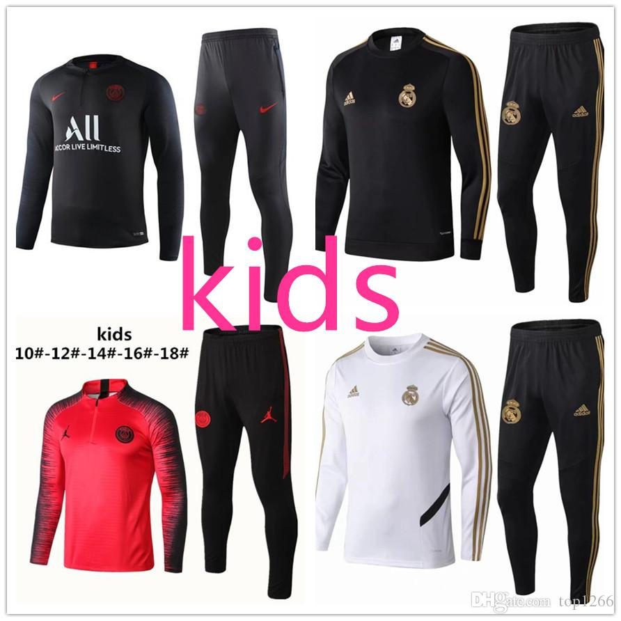 le dernier 92c7e a4c77 Madrid 20 Survetement Kids Jordan Manchester Enfant Real 19 ...