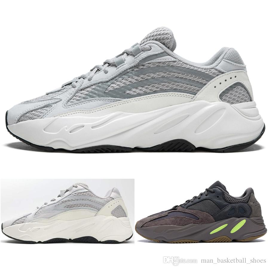 Pour Yeezy Vague Mens Luxe Femmes Rtrainer Coureur Kanye Hommes Nouvelle Chaussures Mauve Adidas Arrivée Running 700 Shoes Baskets WE29IHDY