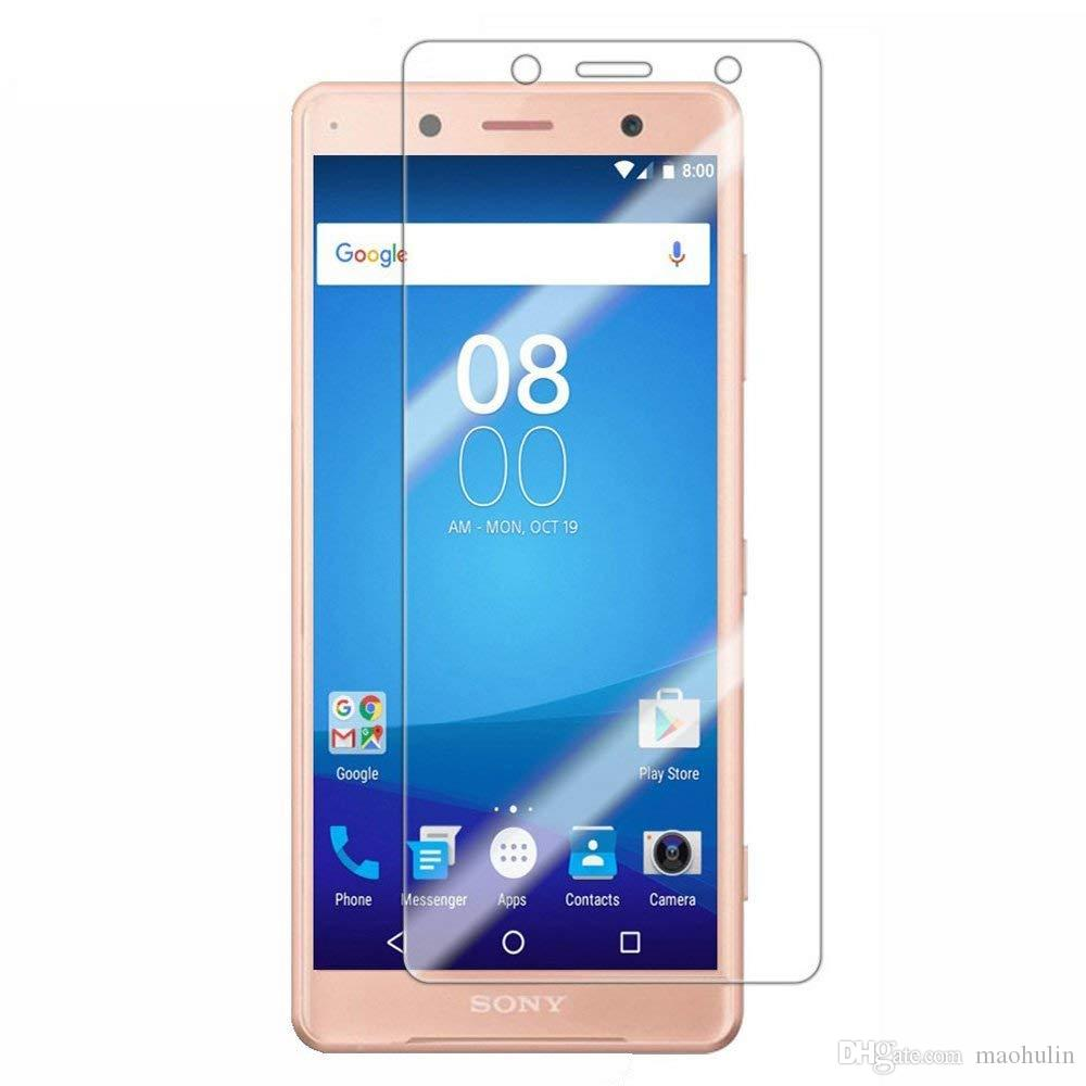 for Sony Xperia XZ2 XZ1 Compact XZ2 Compact Screen Protector Screen  Coverage Scratch Resistant Anti-Fingerprints 9H Hardness Tempered Glass