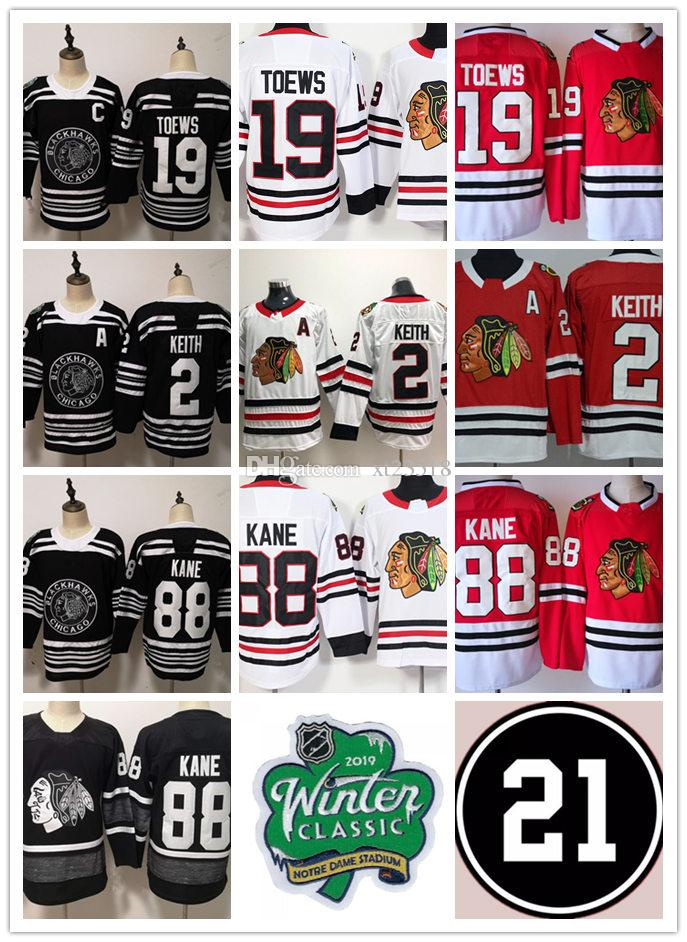 meet 390e1 6a2a4 Men s Chicago Blackhawks Patrick Kane 2019 ALL-STAR Jersey Duncan Keith  Jonathan Toews Chicago Blackhawks Winter Classic Jersey S-3XL