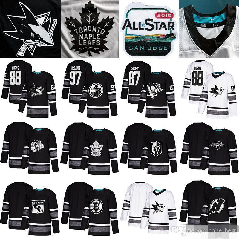 2019 2019 All Star Game Jersey Brent Burns Sidney Crosby Connor McDavid  John Tavares Marc Andre Fleury Patrick Kane Auston Matthews Patrick Kane  From Tobe ... 65501ac2f