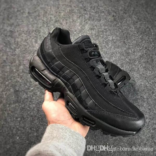 1730af8d6c 2019 Cheap Sale 95 Essential OG Luxury Designer Casual Shoes For Good  Quality 95s Black White Orange Men Women Athletic Sneakers Size 36 45 Shoe  Sale Shoes ...