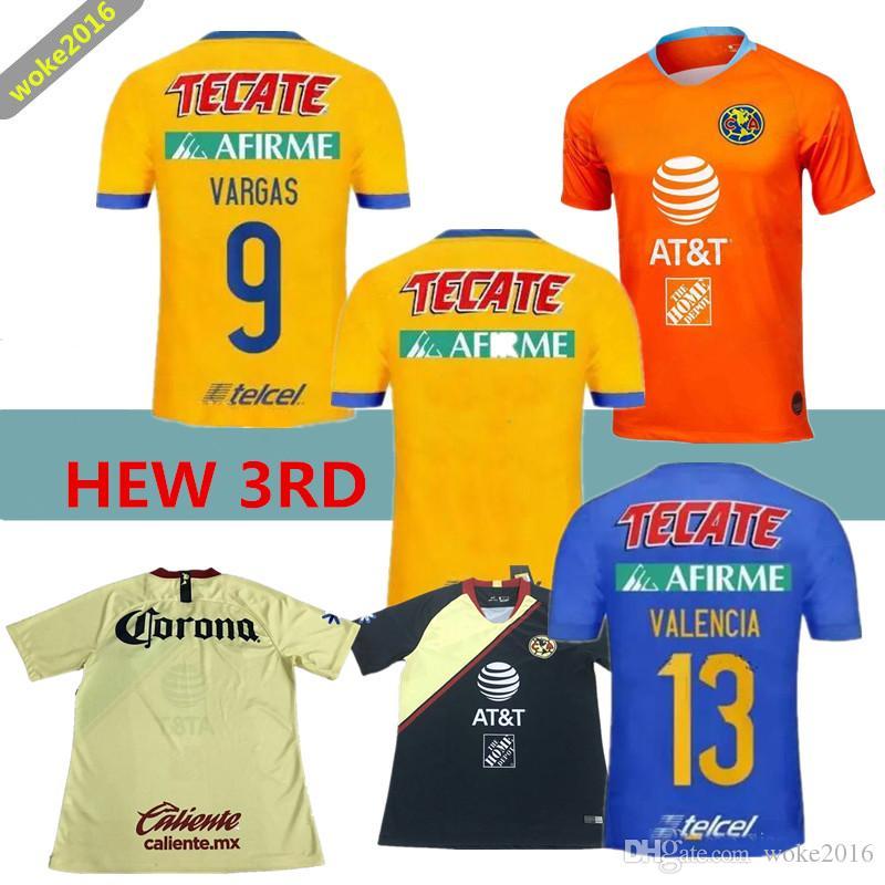 2018 2019 México Calidad Tailandesa LIGA MX Camisetas De Fútbol Casa 18 19  Apertura A18 CAMPEON Tercer Xolos De Tijuana Chivas Tigres Camiseta De  Fútbol Por ... e829dac58bd1c