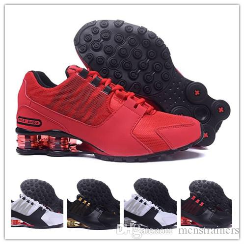 sélection premium ada10 6d106 2018 Mens Shox Avenue 802 Designer Shoes New Mens Outdoor Walking Athletic  Trainers Sport Sneakers Classic Chaussres Homme TN Sizes US7-12