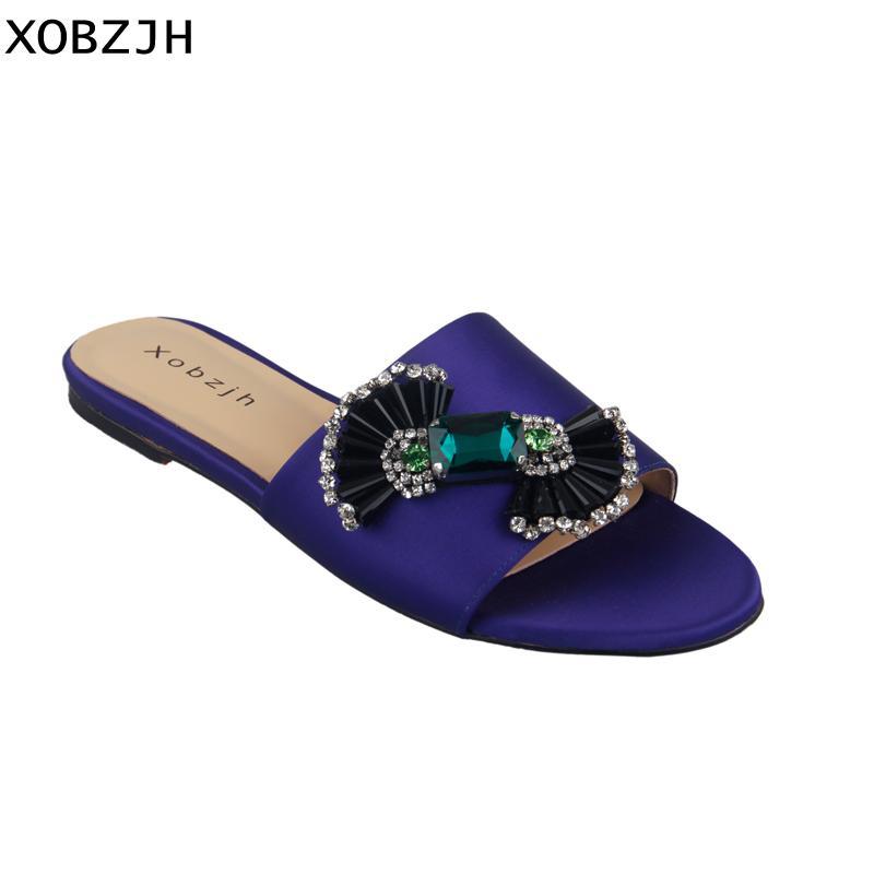 8e4aa5cfeedb92 Acheter 2019 Femmes Chaussures D'été Sandales Plat De Mode De Luxe ...