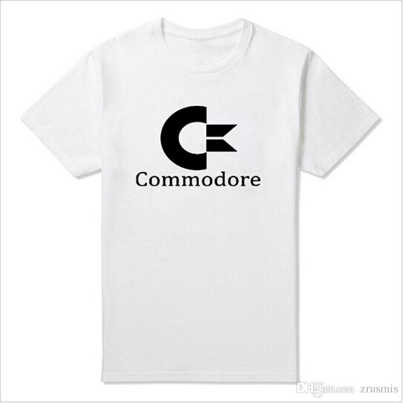 2017 New Arrivals Summer Commodore 64 T Shirts C64 SID Amiga Retro 8-bit  Ultra Cool Design Vinyl T-shirt Mens Clothing