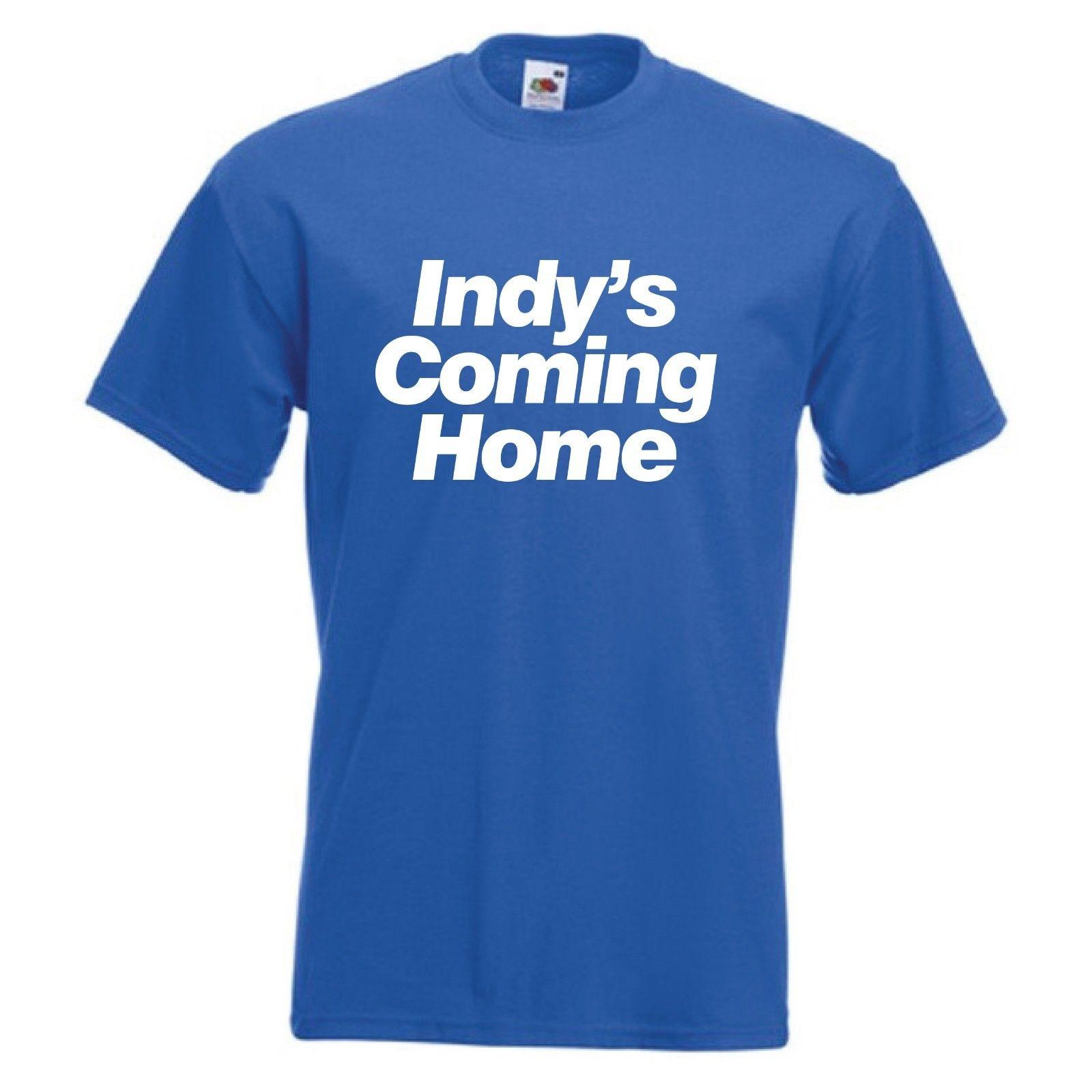 Indy's Coming Home T-Shirt - Scottish SNP Independence Nation Scotland YesFunny free shipping Unisex Casual Tshirt