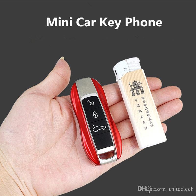 Unlock Car With Phone >> Best Unlocked Mini Cute 911 Car Key Mobile Phone Luxury Dual Sim