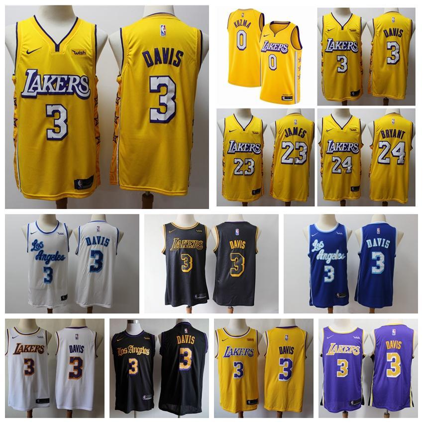 2020 Nbanike Lakers3 Anthony Davis Finished Cityedition Swingman Jersey Men S Los Angeleslakers Basketball Jersey