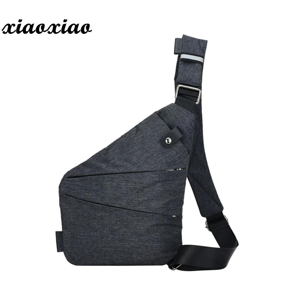 e53a7c1fe171 Slim Shoulder Bag For Men Crossbody Bags Canvas Men Messenger Bags  Waterproof Waist Bag Phone Pocket Chest Pack Nylon Waist Pack Satchel Bags  Man Bags From ...