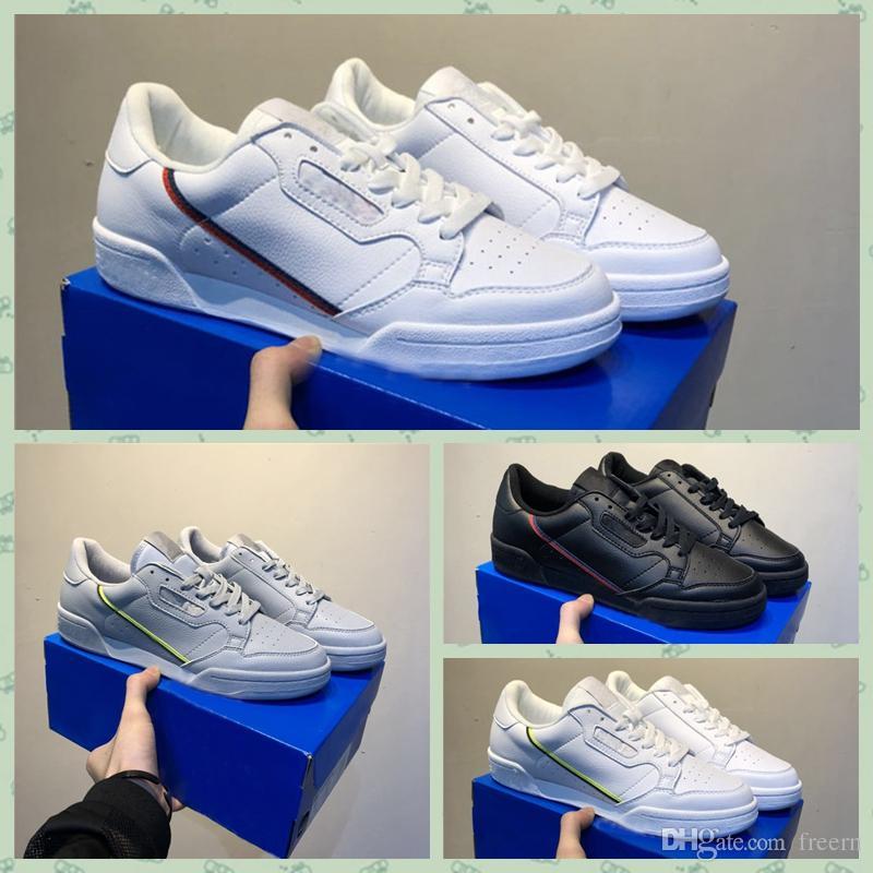 adidas Originals Continental 80 Powerphase Gris Continental 80 Calzado casual Kanye West Aero azul Núcleo negro OG blanco Hombres mujeres Entrenador