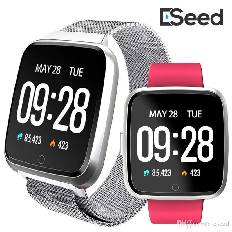 8140e6287c0e NUEVO para apple iphone Y7 Inteligente Fitness Brazalete Sport Tracker  reloj del teléfono Monitor de ritmo cardíaco impermeable Pulsera pk fitbit  ...