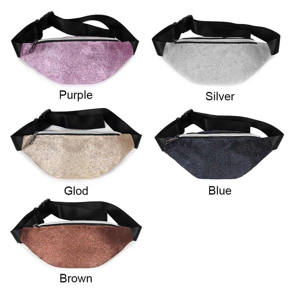 d197445d29 Women Lady Girl Waist Bag Sequin Small Mini Zipper Portable Pouch For Mobile  Phone Money Fa 3 Vintage Fanny Pack Fanny Bags From Packbest03