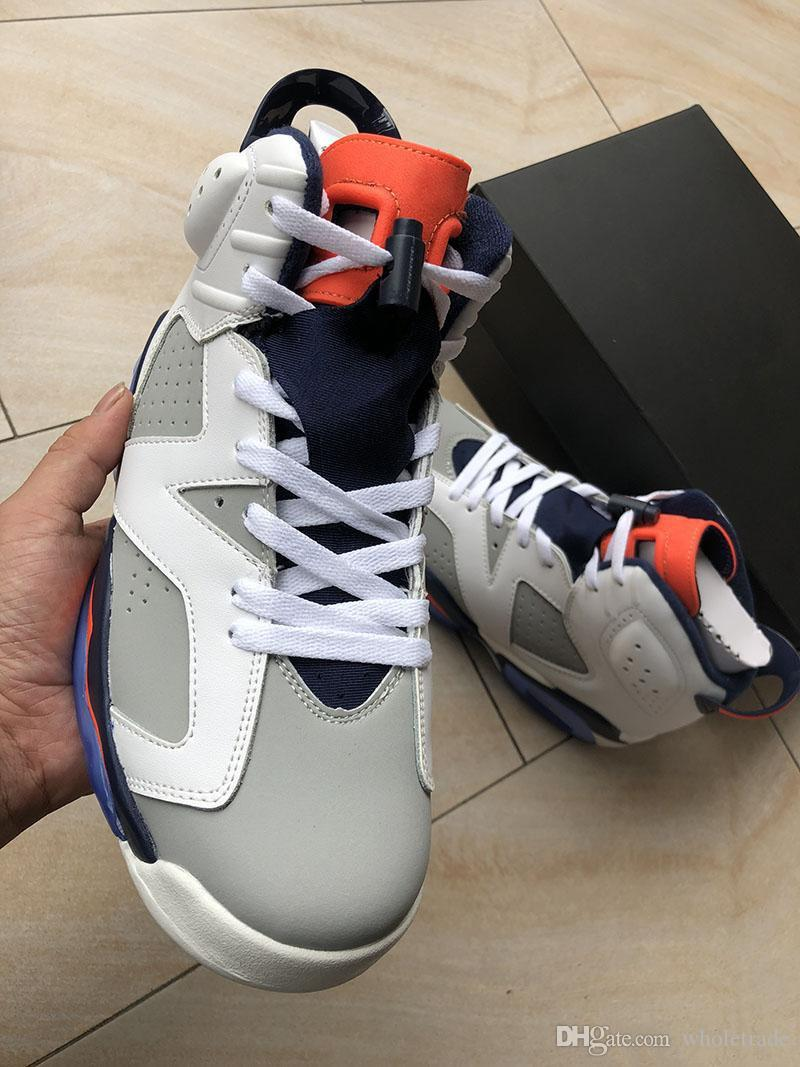 various colors 95e24 41d6c Free Shipping 6s Tinker Basketball Shoes Mens Womens VI 6 Tinker White  Infrared 23-Neutral Grey-Sail Sneakers Size US 5.5-13 With Box
