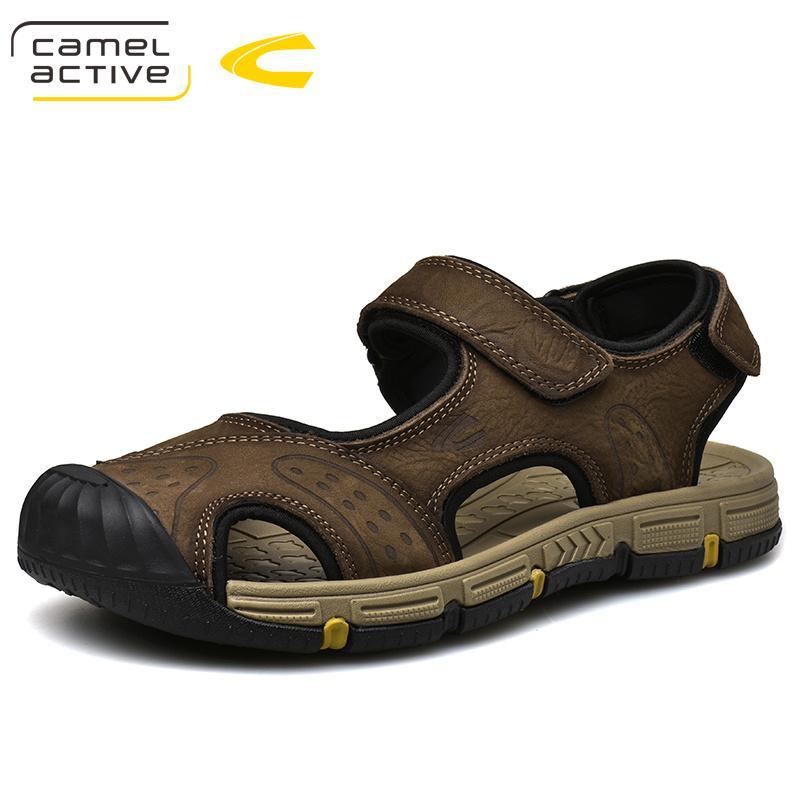 c660f42df547a Satın Al Deve Aktif 2019 Yeni Yüksek Kalite Yaz Erkek Sandalet Hakiki Deri  Rahat Inek Deri Ayakkabı Moda Rahat Ayakkabılar 19363, $72.12 |  DHgate.Com'da
