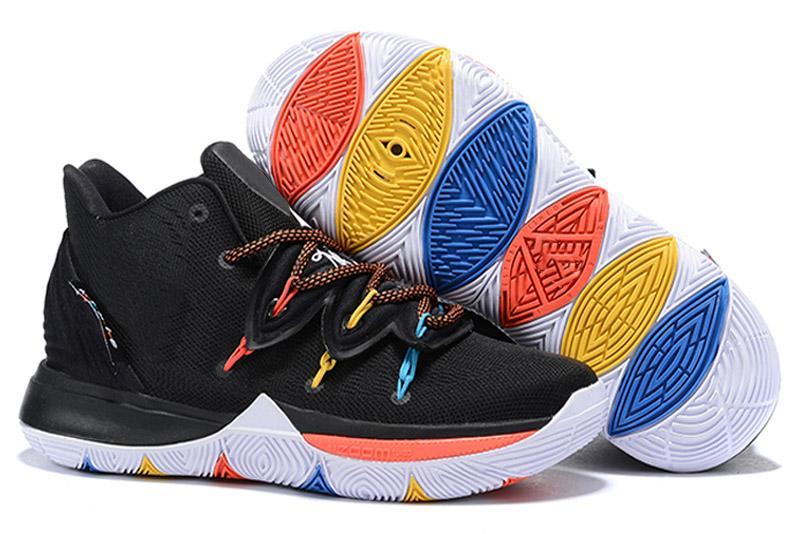 kyrie irving 1 pe yellow black orangenike kyrie 1 shoes - 750×501