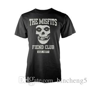 The Misfits Fiend Club Punk RoBrand Oficial Tee T-Shirt Homem