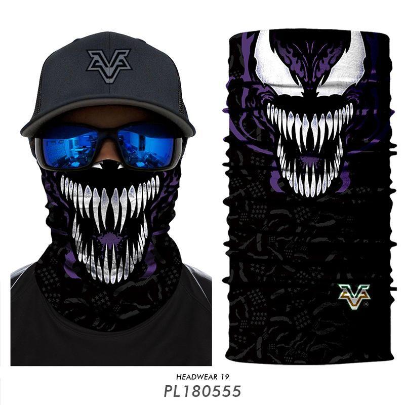 92e45b18489 3D Venom Neck Tube Scary Ski Balaclava 3D Marvel Cycling Bandana Halloween  Outdoors Face Mask Windproof Scarfs Snood Scarf Men Scarves From Ekkk