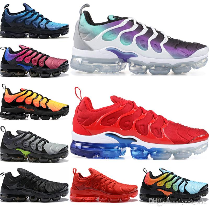 ab903e9bdd5213 2019 TN Plus Running Shoes For Men Women USA Wolf Grey Game Royal Grape  Photo Blus Triple Black Red White Designer Sport Trainers Sneakers From  Yeezysale, ...