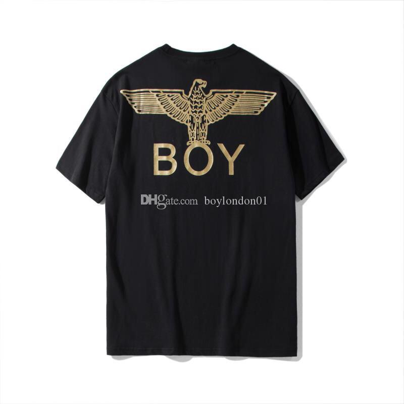 19ss Boy London Mens T Shirt Designer Men Women High Quality Short Sleeves Fashion Designer Boy Luxury 4 Colors Tees