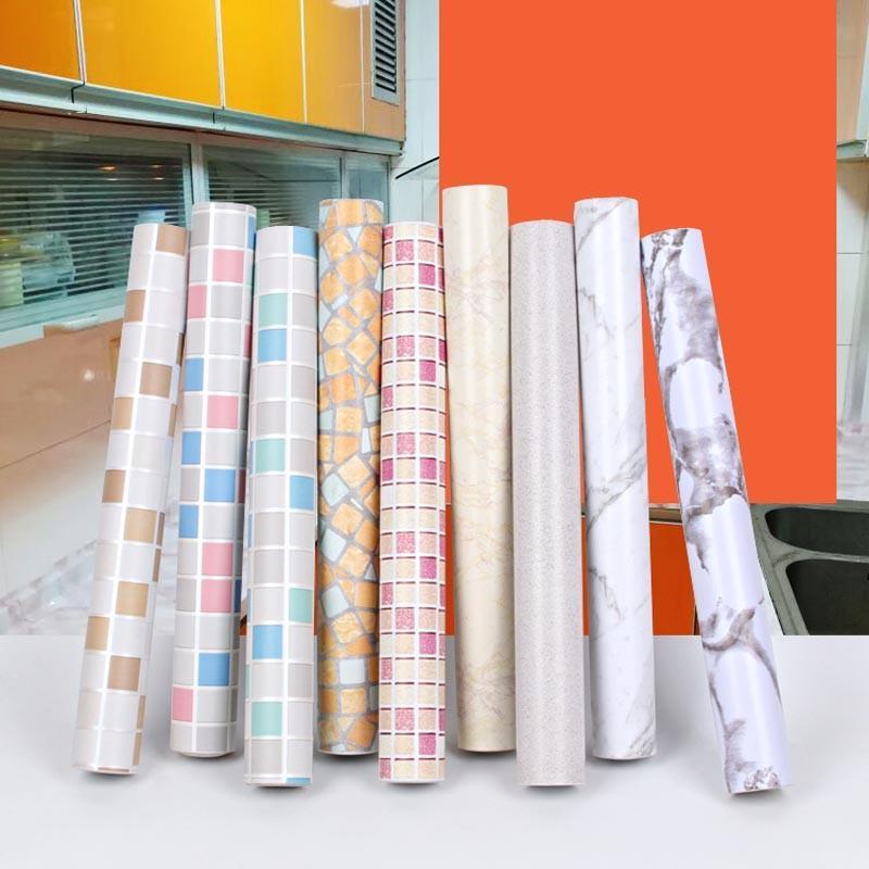 Grosshandel Pvc Vinyl Tapeten Wasserdichte Selbstklebende Tapete