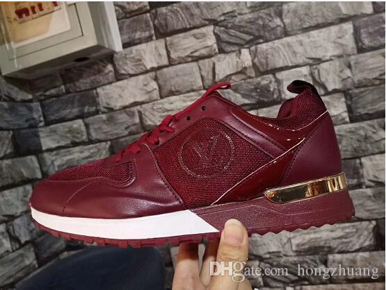 Acheter NOUVEAU Designer Femmes Baskets Mocassins Hommes Luxe En Cuir Maille  Sport Chaussure De Mode Baskets Unisexe Low Cut Chaussures De Course  Chaussures ... 7ce4b3e129df