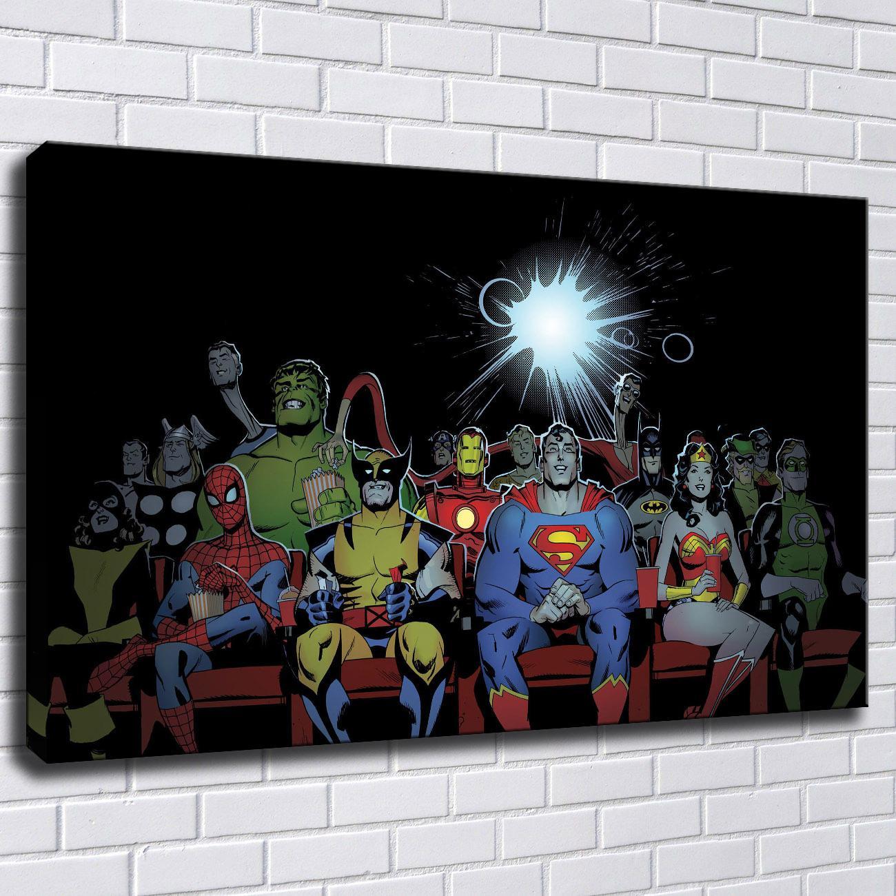 Satın Al Dc Ve Marvel Karakterler Avengers Süper Kahraman Boyama