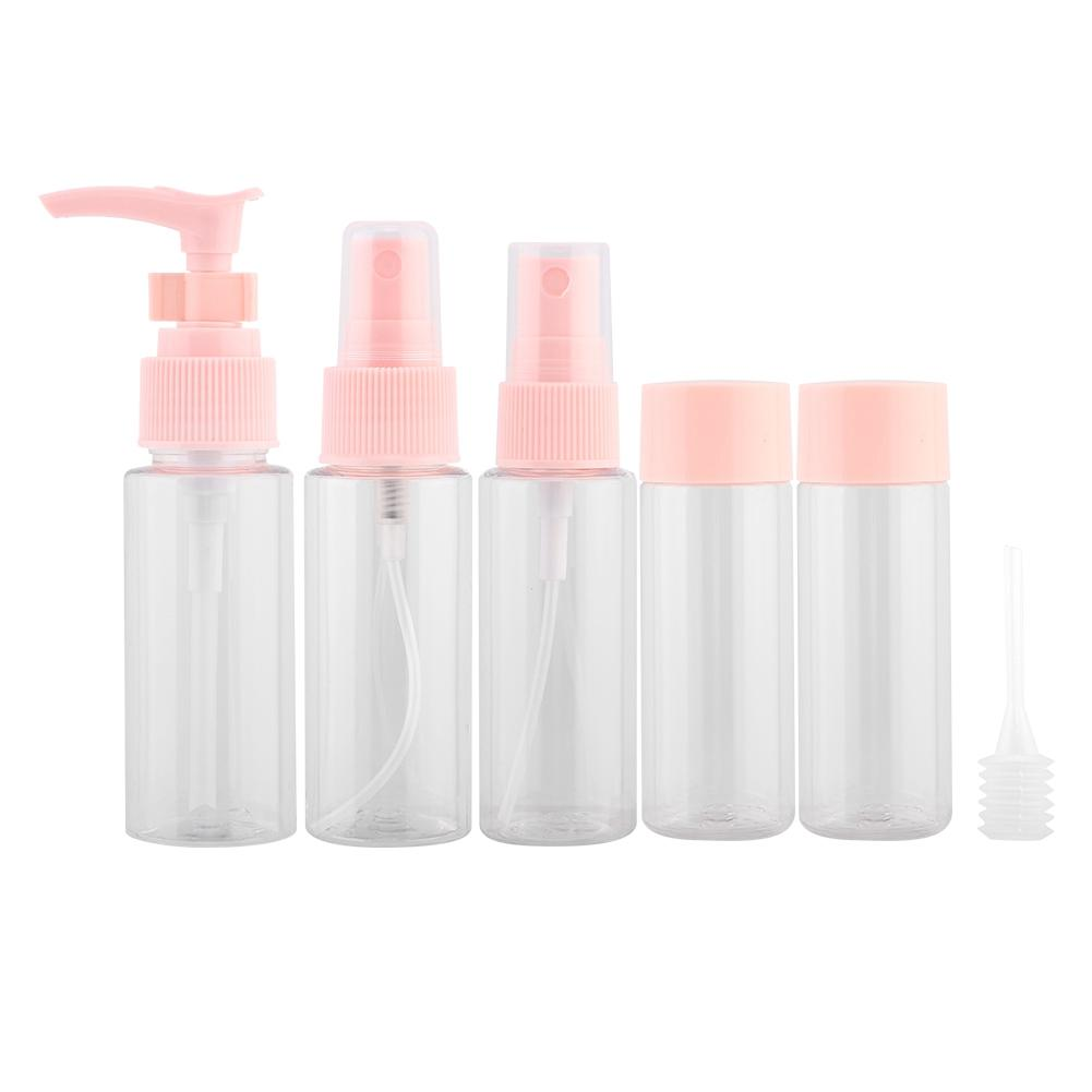 fcc92a87e Compre 6 Unids / Set Portátil Reutilizable Maquillaje Spray Botella Loción  Crema Contenedor Kit Para Viajar A $38.09 Del Calars | DHgate.Com