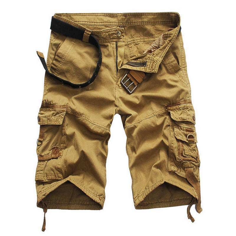 6808aa1a2eb 2019 2019 Shorts Man Summer Brand Fashion Men'S Casual Bermuda ...