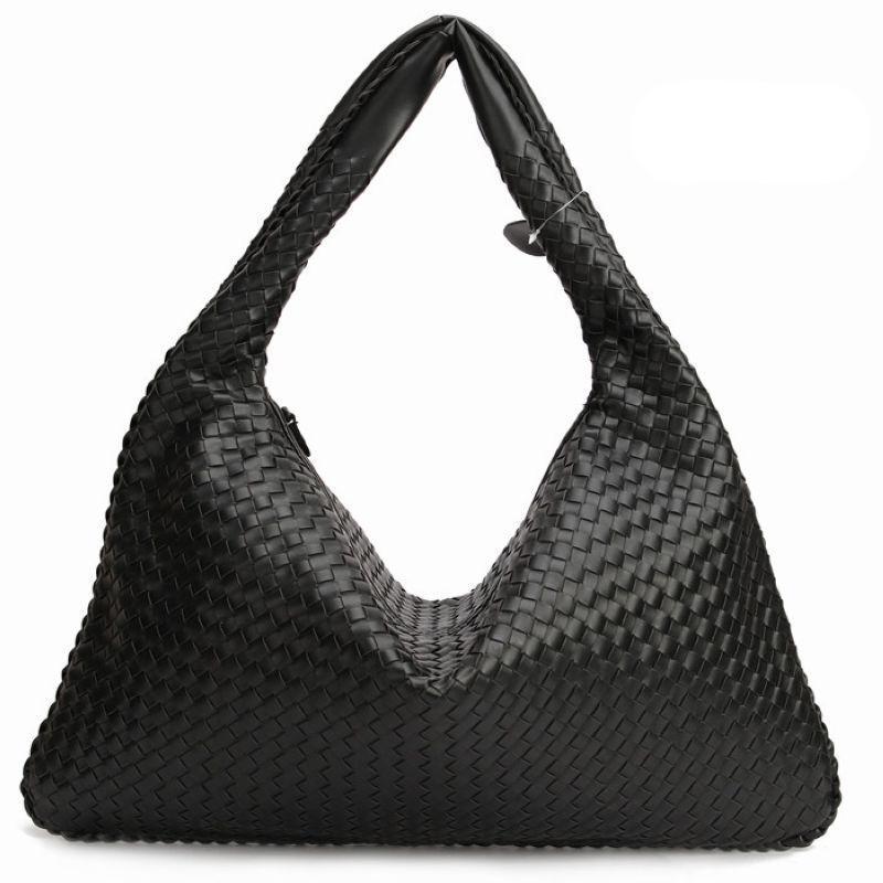 f839b2af6f Hand-Weaving Women Bag Handbag Fashion Casual Dumplings Bag 2016 New  Leather Ms. Tote Shoulder bag~Star models~16B4
