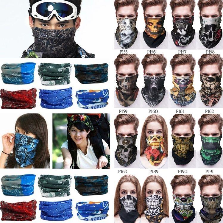 New Outdoor Bandana Multi Function Head Scarf Seamlessly Headband Magic Scarf  Scarf Cycling Masks Skeleton Sport Bandanas I495 Jamaican Bandana Bandana  Usa ... d19e83f27d06