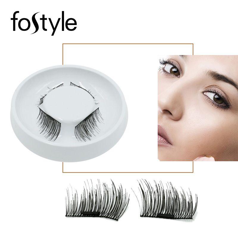 3d Mink Lashes individual Eyelash Extension Supplies Magnetic Eyelashes  mink Strip Lashes False Eyelash magnetic Make Up